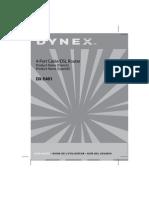 DX E401 Manual