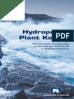 Hydropower Plant Pump Englisch