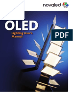 Novaled OLED Lighting Manual Short Preview