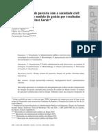 OSCIPS e Termos de Parceria Peci at Al. Periodico RAP 2008 GRUPO 4