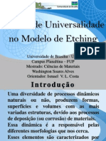 Seminário - Classes de Universalidade