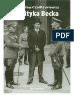 Polityka Becka - Stanisław Cat-Mackiewicz