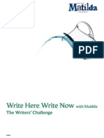 The Writers Challenge (Matilda the Musical)