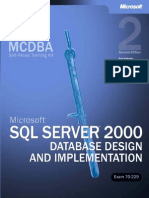 MCDBA-MCAD-MCSE-70-229-Microsoft SQL Server 2000 Database Design and Implementation