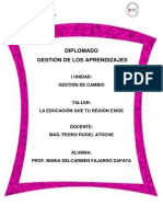 Diplomado de Gestion de Los Aprendizajes