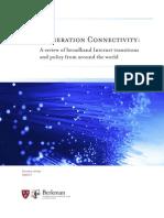 Berkman Center Broadband Study 13Oct09