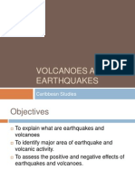 Volcanoes and Earthquake