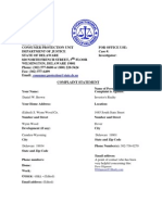 WSDI.attorney.general 2008.11.22 Complaint.form.Investors.realty UL