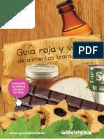 Guia Roja Verde Alimentos Transgenicos Actualizada