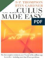 Thompson, Gardner Calculus Made Easy