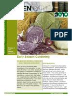 Early Season Gardening