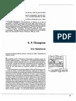Hobsbawm E.P.thompso