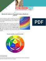 Mezcla de colores teoría del color | Aprender a Pintar al óleo