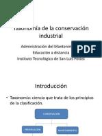 Taxonomía de la conservación industrial (1)