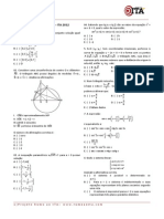 521 Simulado Semanal 01 Matematica Ita 2012