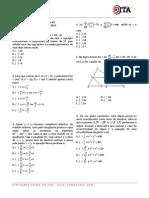 527 Simulado Semanal 03 Matematica Ita 2012
