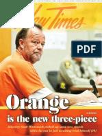 Orange Is The New Three-Piece