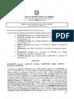 Tribunale di Reggio Calabria, Ordinanza Mammoliti+6