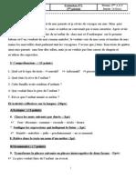 evaluation 2 2ème période