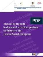 Manual Proiecte FSE