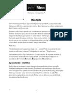 Projeto IntelliMen Manifesto