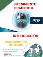 Mantenimiento mecánico II