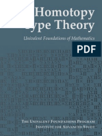 Homotopy Type Theory - Univalent Foundations of Mathematics, IAS