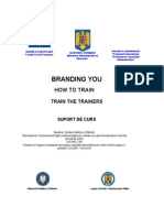 Train the Trainers - Suport Curs