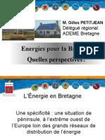 Energies pour la Bretagne - Quelles perspectives ?
