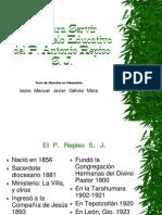 Modelo Educativo P Antonio Repiso SJ x Javier Gálvez M.