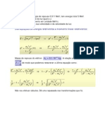 Energia e momento linear relativísticos