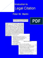 Basic Legal Citation 0