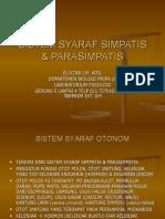 Sistem Syaraf Simpatis Dan Parasimpatis