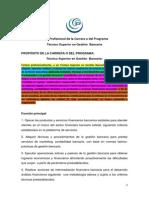 Perfil Profesional de La Carrera o Del Programa CORREGIDO Y DEFINITIVO