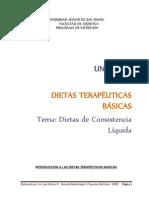 UNIDAD III - DIETAS LÍQUIDAS