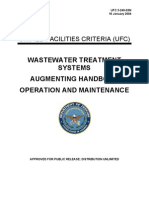 UFC 3-240-03N Waste Water Treatment System Augmenting Handbook Operation and Maintenance (01!16!2004)