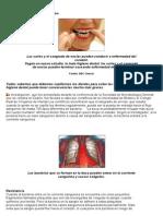 Los dientes y el riesgo al corazon.doc