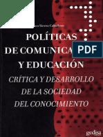 SIERRA FRANCISCO Politicas de Comunicacion Y Educacion