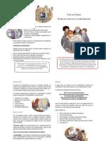 Diptico- Taller de Padres, Adolescentes y Redes Sociales