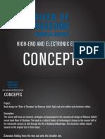 High-End & Electronic Version Presentation