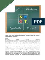 Sebuah Analisis SWOT Mengidentifikasi