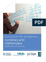 Numeracy and Mathematics