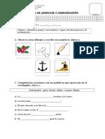 PRUEBA DE GRUPOS CONSONÁNTICOS