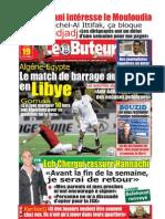 LE BUTEUR PDF du 19/10/2009