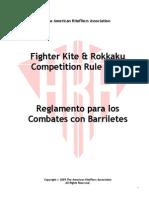 Reglamento para los Combates con Barriletes - The Aka Fighter Kite 2005