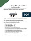 Foundation Design Philosophy for Shell & Tube Exchanger
