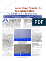 Surface Preparation Standards for Steel Substrates