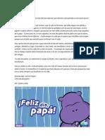 Carta Del Dia Del Papa