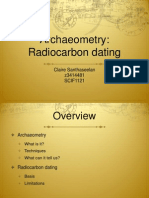Archaeometry - Claire Santhaseelan