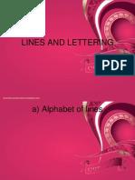 Lines n Lettering